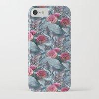 dahlia iPhone & iPod Cases featuring Dahlia by ravynka