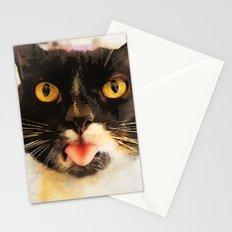 cat Jagoda kiss Stationery Cards