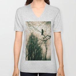 Crow Blur Unisex V-Neck