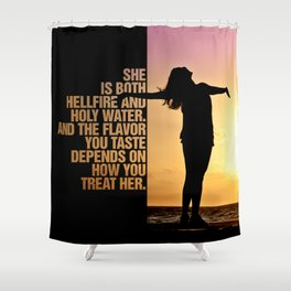 Yes She is Shower Curtain