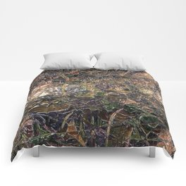Abstract material shinny surface texture pattern digital illustration concept design graphic style b Comforters