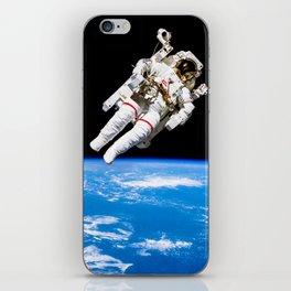 Astronaut Bruce McCandless Floating Free iPhone Skin