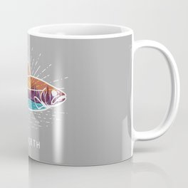Up North Fish Coffee Mug