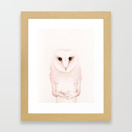 Lost Whispers Framed Art Print