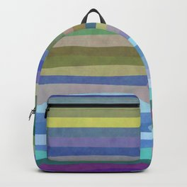 Fab Arty Stripes Backpack