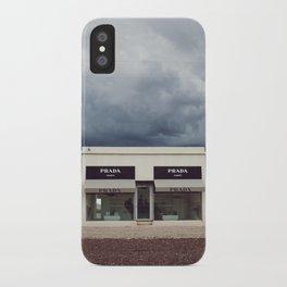 Summer storm | Marfa, Texas iPhone Case