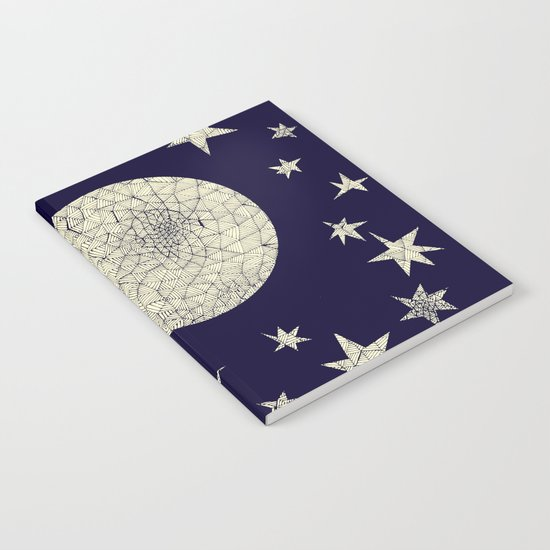 Moon and Stars Notebook