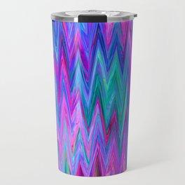 Holographic Mountains Travel Mug