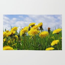Dandelion meadow Rug