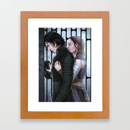 Rebirth of Ben Solo Framed Art Print