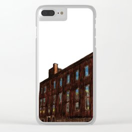 LACHINE RAPIDS HYDRAULIC AND LAND COMPANY KANDER PAPER STOCK COMPANY LTD. Clear iPhone Case