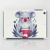 australia iPad Cases featuring I♥Australia by Lime