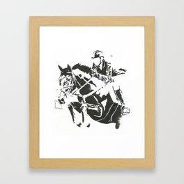 Jumper 1 Framed Art Print