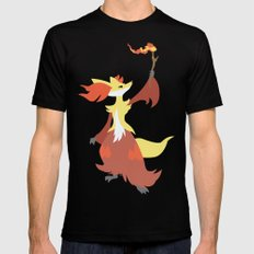 Delphox Mens Fitted Tee SMALL Black