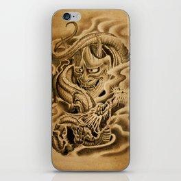 Hannya Dragon iPhone Skin
