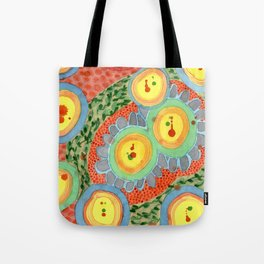 Splashes In Bubbles Tote Bag