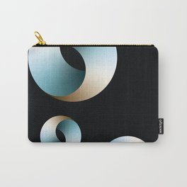 Blue Society Carry-All Pouch