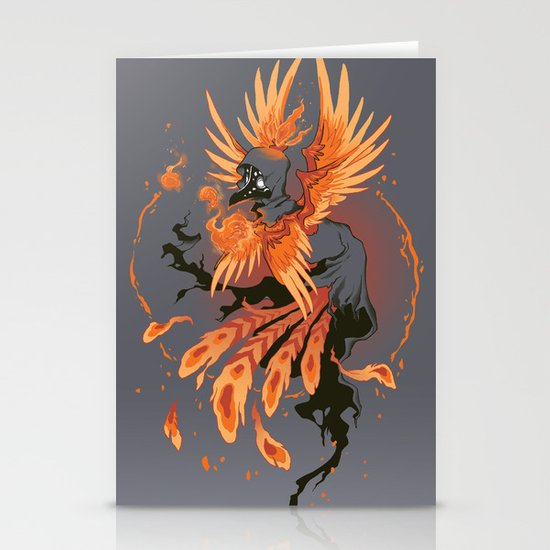 The Avian Arsonist Stationery Cards