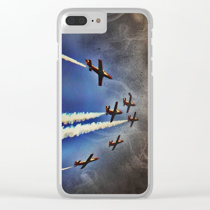 Airshow Clear iPhone Case
