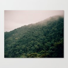 foggy hills Canvas Print