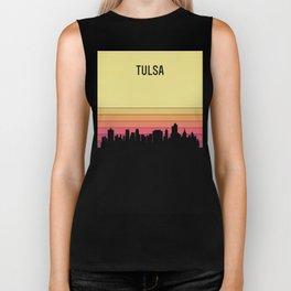 Tulsa Skyline Biker Tank