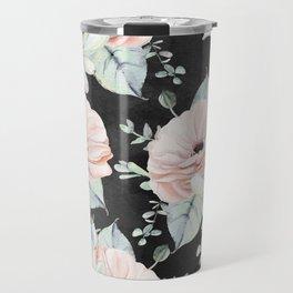 Night Succulents Travel Mug