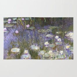 Water Lilies 1922 by Claude Monet Rug