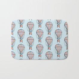 Air balloon Bath Mat