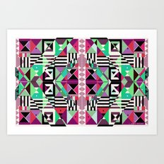Crazy Eights Art Print