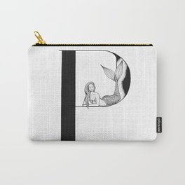 Mermaid Alphabet Series - P Carry-All Pouch