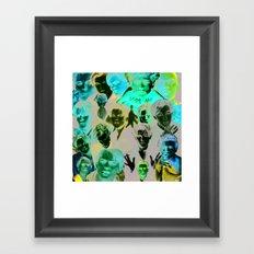 90s dreamboat Framed Art Print