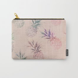 Soft Pastel Pineapple Summe Pattern Carry-All Pouch