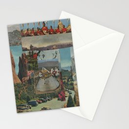 Scientists Fly To Work Stationery Cards
