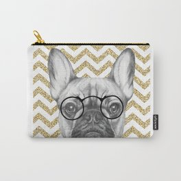 Glitter and Glasses Carry-All Pouch