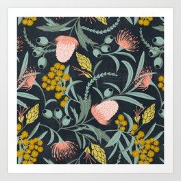 Flora Australis Art Print