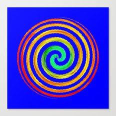 Gerbera Absract Canvas Print
