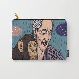 Jane Goodall Carry-All Pouch