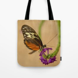 Tiger Longwing Butterfly-7 Tote Bag