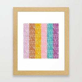 Gem City Framed Art Print