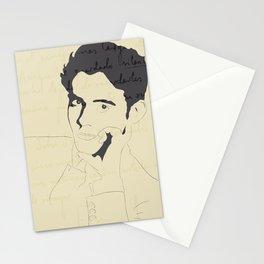 Federico García Lorca Stationery Cards
