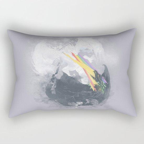 Clash of the sky Dragons Rectangular Pillow