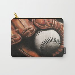 Baseball and Glove Carry-All Pouch