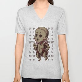 Play With Me Unisex V-Neck