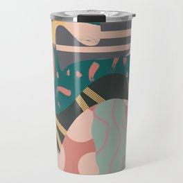 Tribal pastels Travel Mug