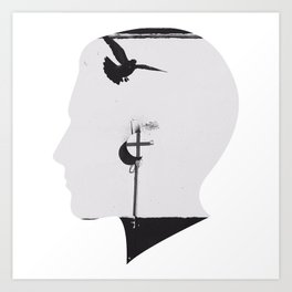 lightheaded Art Print