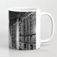 saturn Mugs featuring Saturn by Cs025