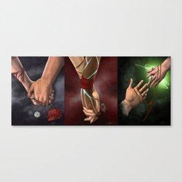 Dragon Age Romance Trilogy Canvas Print