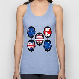 Spying The 5 Eyes Unisex Tank Top