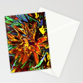 floral technique Stationery Cards