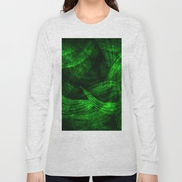 Fresh green nature Long Sleeve T-shirt